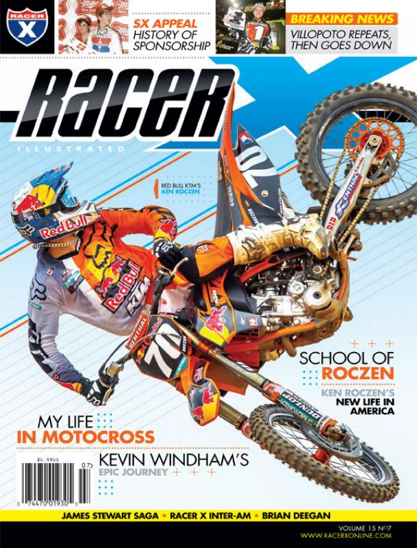 The July 2012 Issue - Racer X Illustrated Motocross Magazine