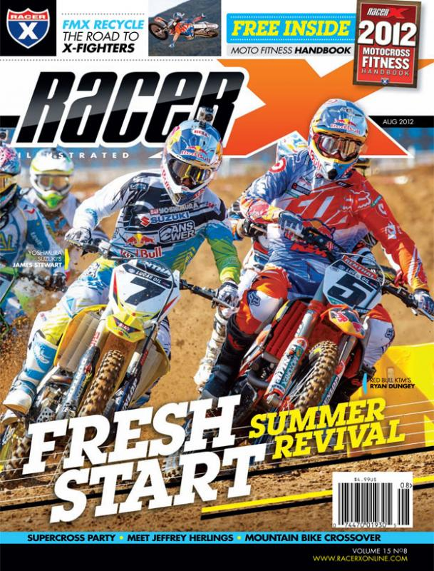 The August 2012 Issue - Racer X Illustrated Motocross Magazine