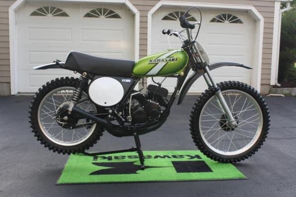 your collection  1976 kx125