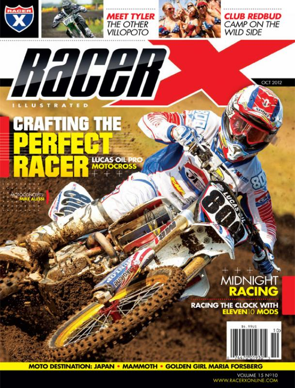 The October 2012 Issue - Racer X Illustrated Motocross Magazine