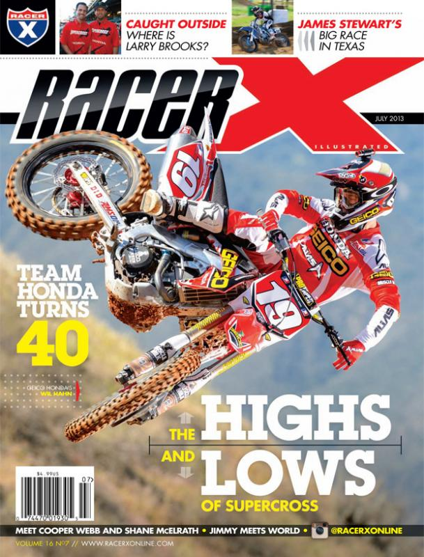 The July 2013 Issue - Racer X Illustrated Motocross Magazine