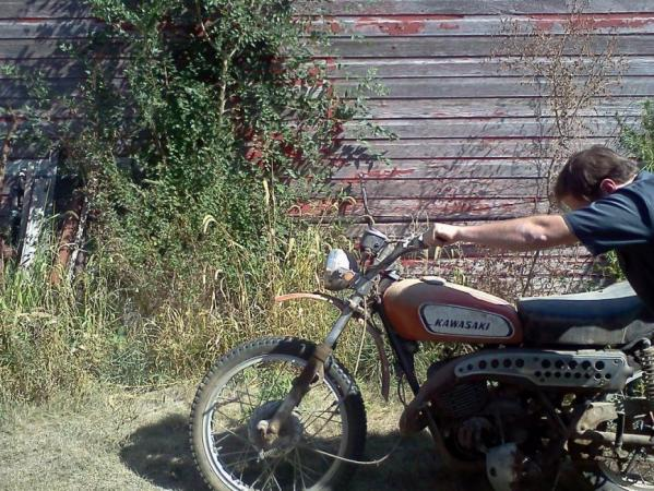 Your Collection: 1970 Kawasaki - Racer X Online