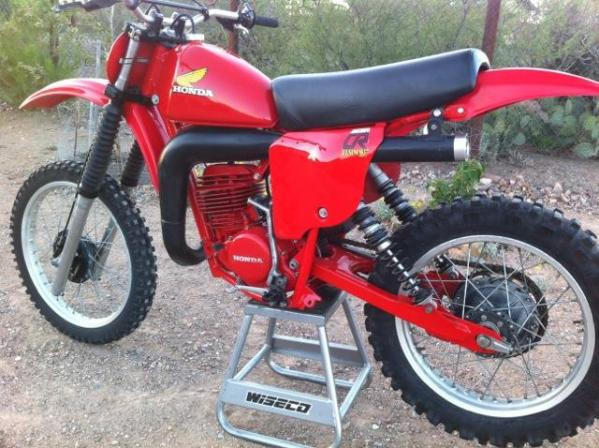 Your Collection 79 Honda Red Rocket 250 Racer X Online
