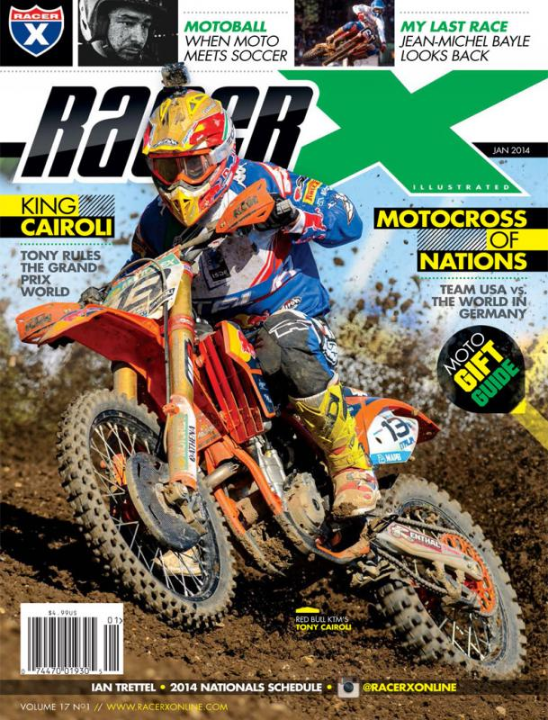 The January 2014 Issue - Racer X Illustrated Supercross Magazine