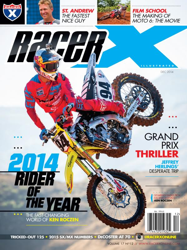 The December 2014 Issue - Racer X Illustrated  Magazine