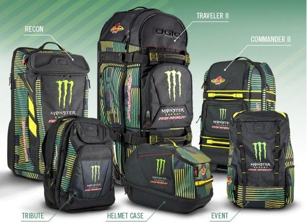 Whether It Be Back Packs For School Or Gear Bags Taking Out To The Track New Pro Circuit Monster Bag Collection Has What You Need