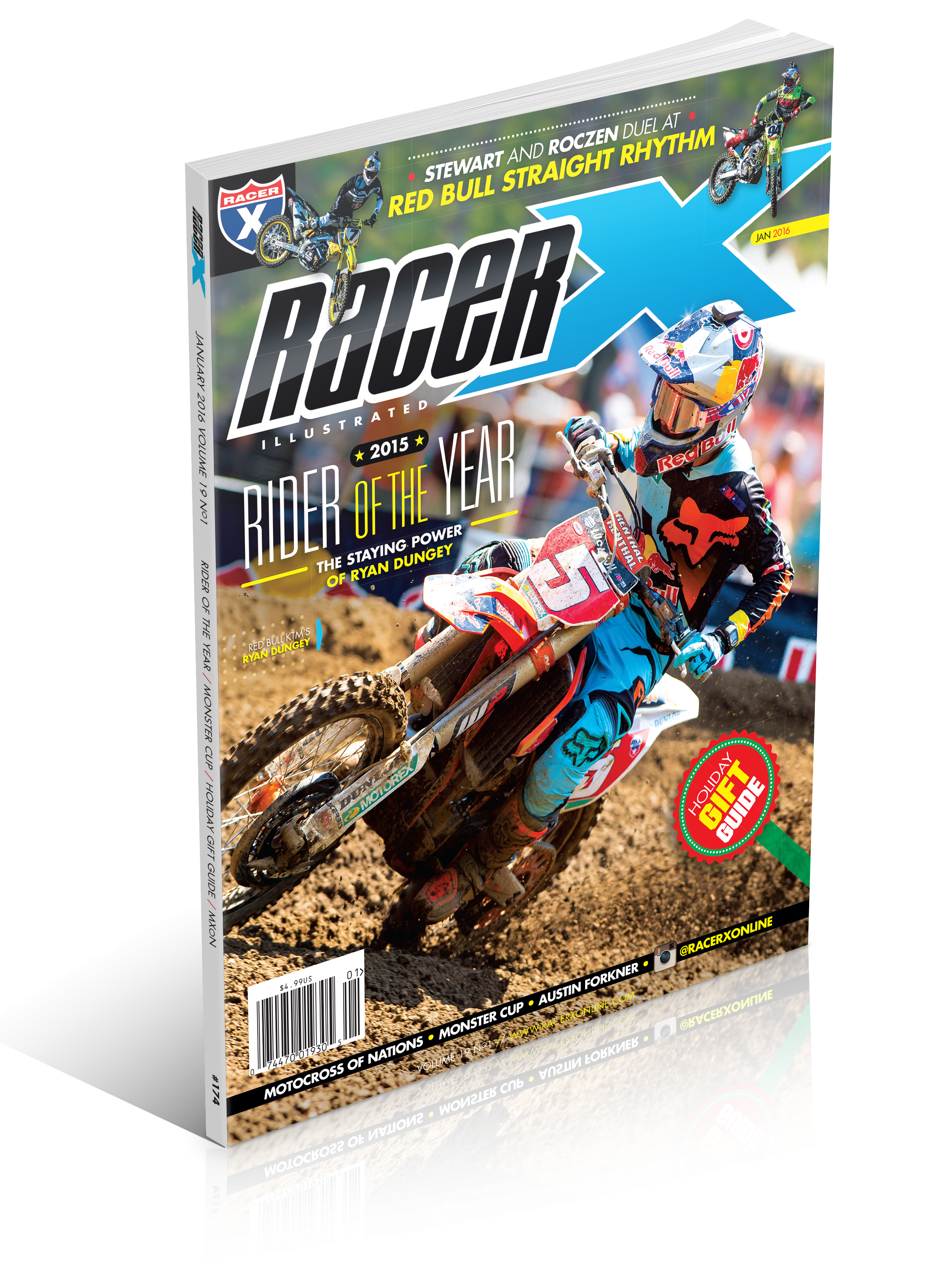 The January 2016 Issue - Racer X Illustrated Supercross Magazine