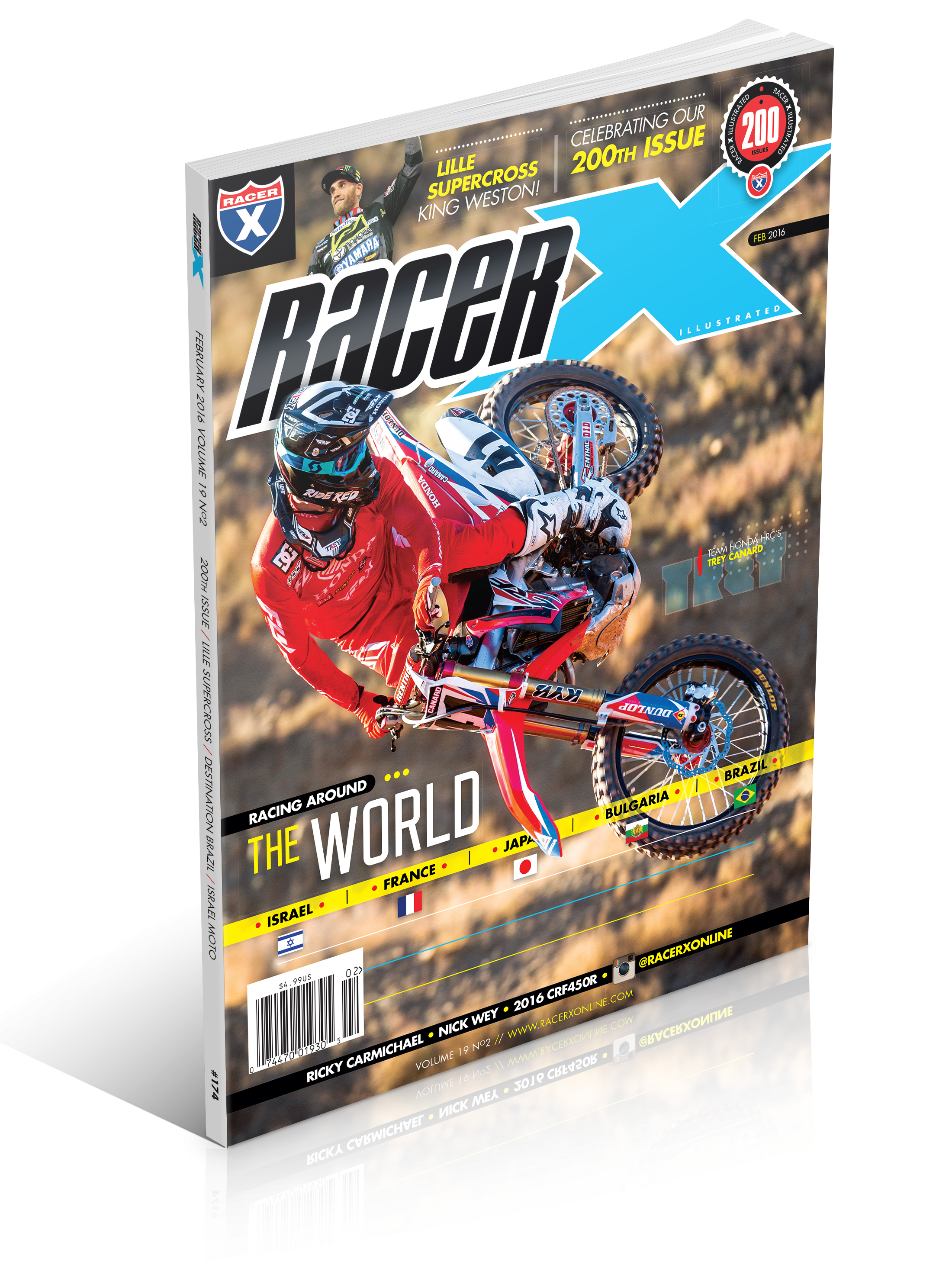 The February 2016 Issue - Racer X Illustrated Supercross Magazine