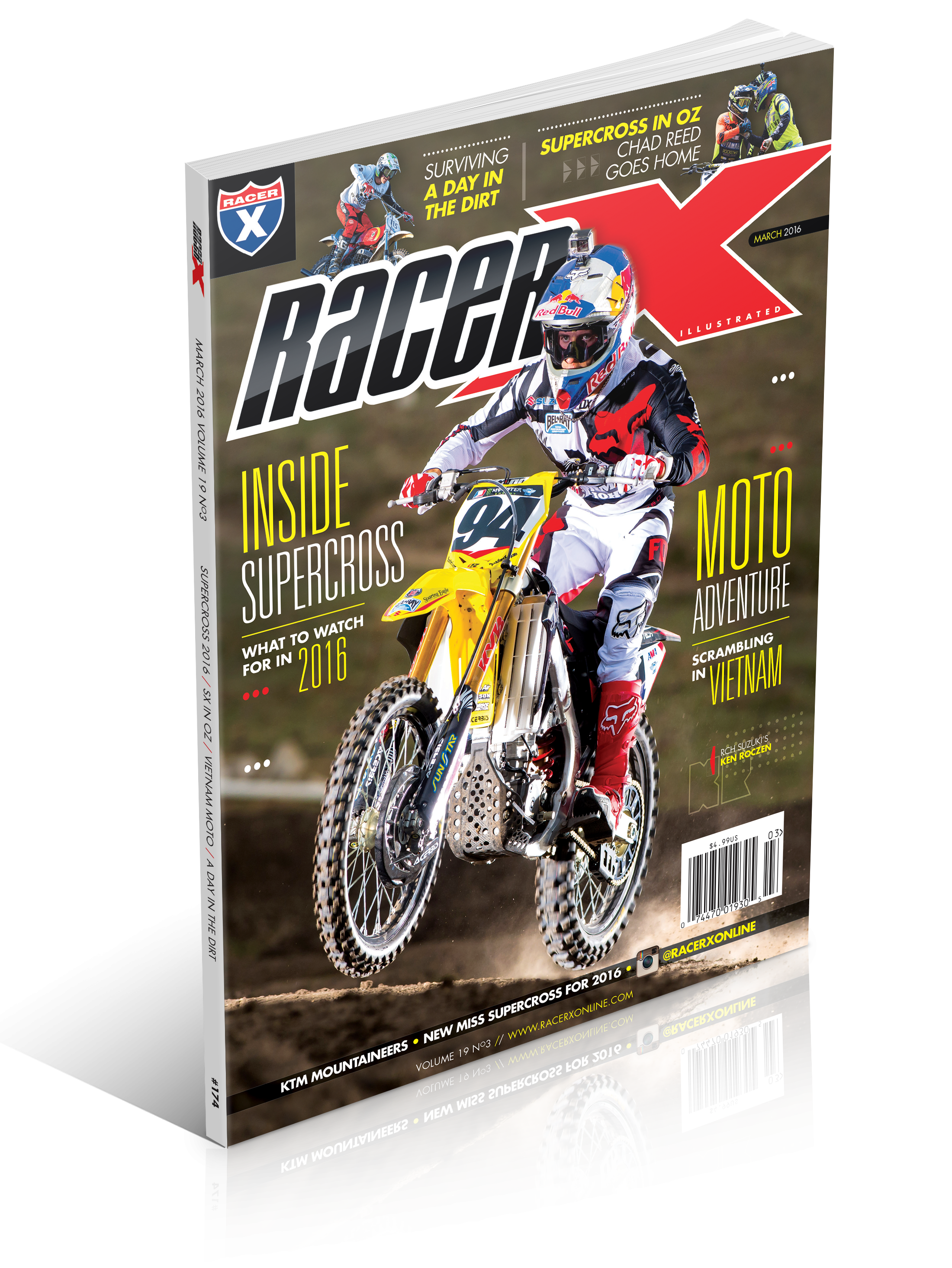 The March 2016 Issue - Racer X Illustrated Supercross Magazine