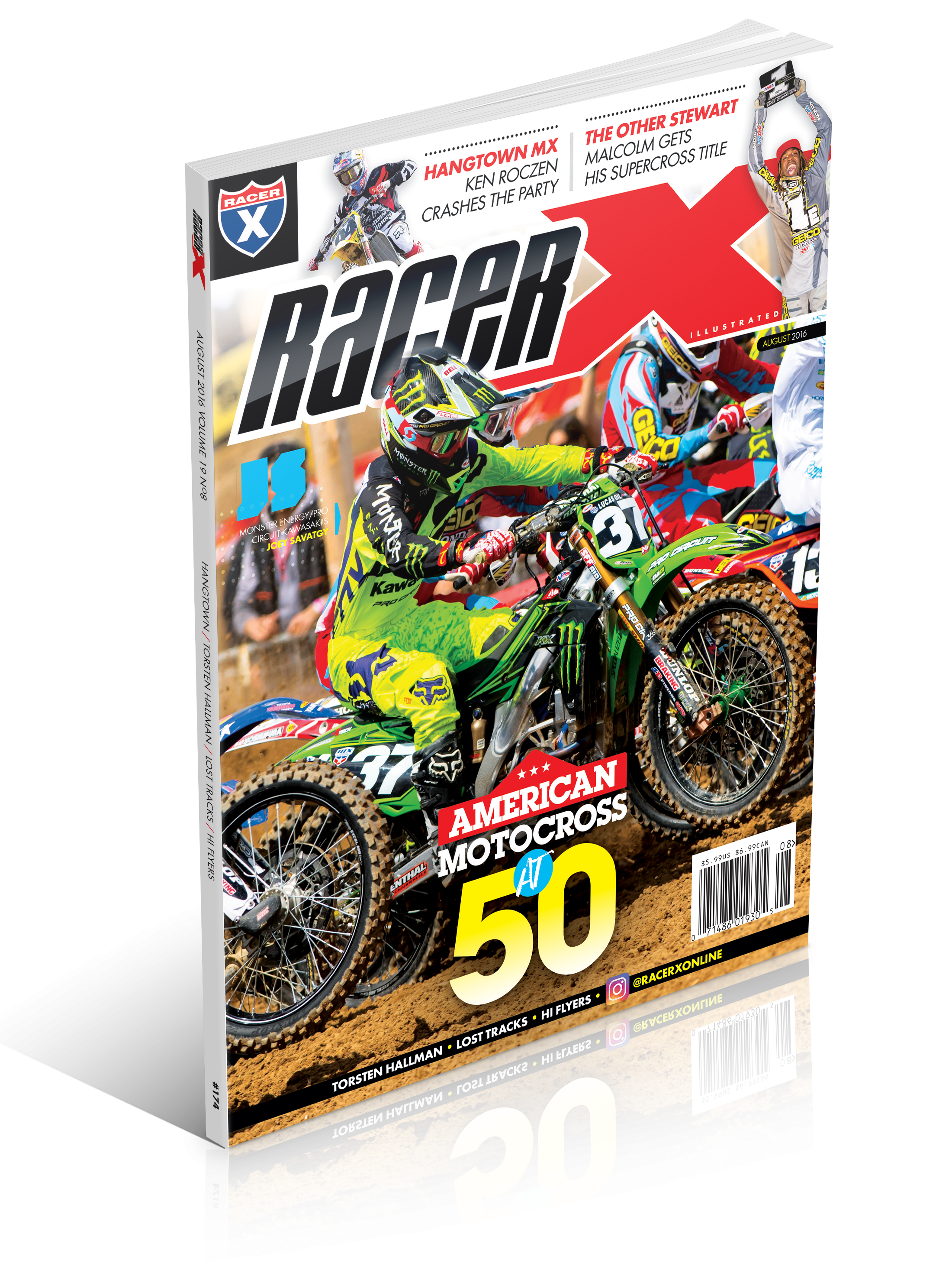 The August 2016 Issue - Racer X Illustrated Motocross Magazine