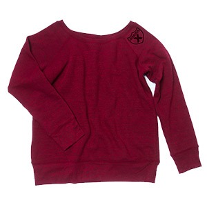 Racer X Shield Wideneck Sweatshirt