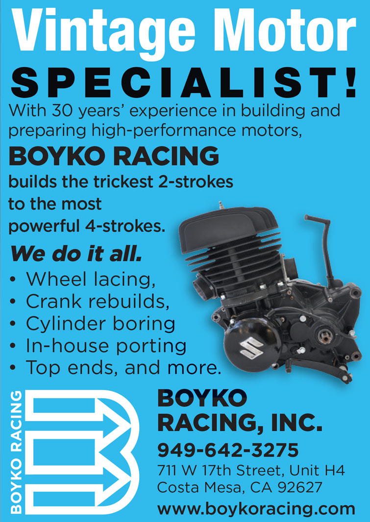 Boyko Racing Inc. Advertisement