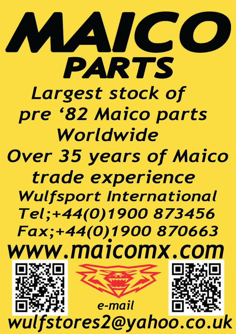 Maico Parts Advertisement