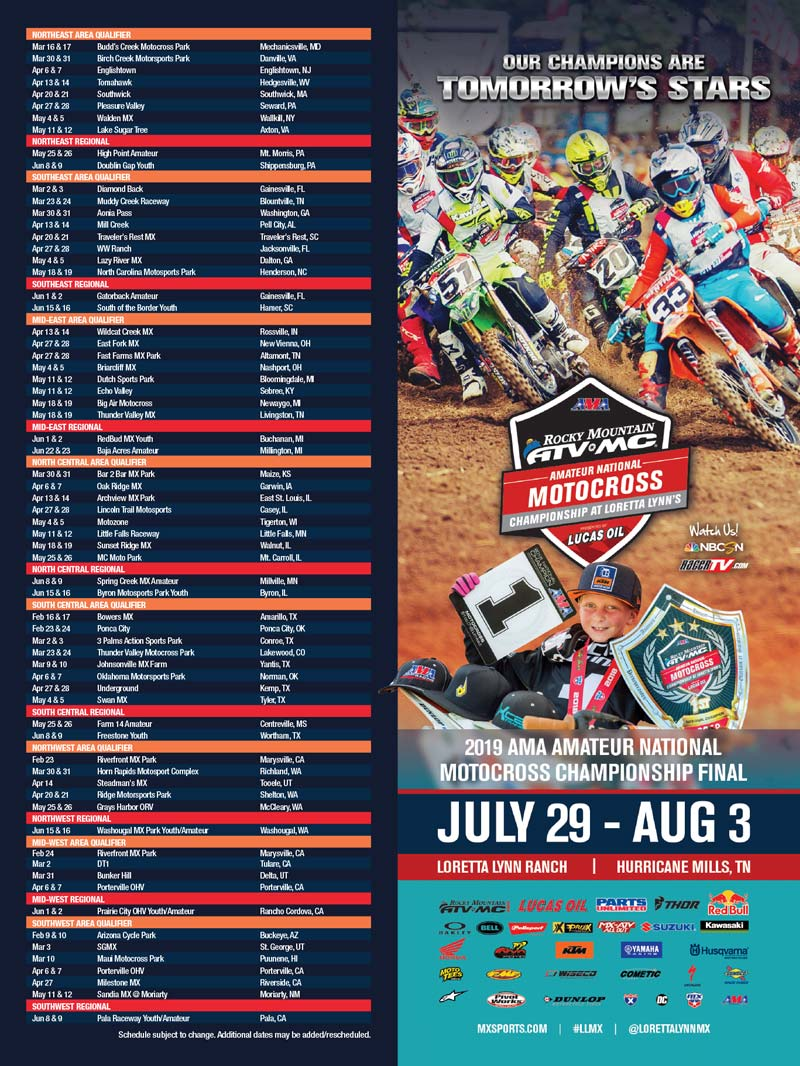 Racer X May 2019 - MX Sports Advertisement