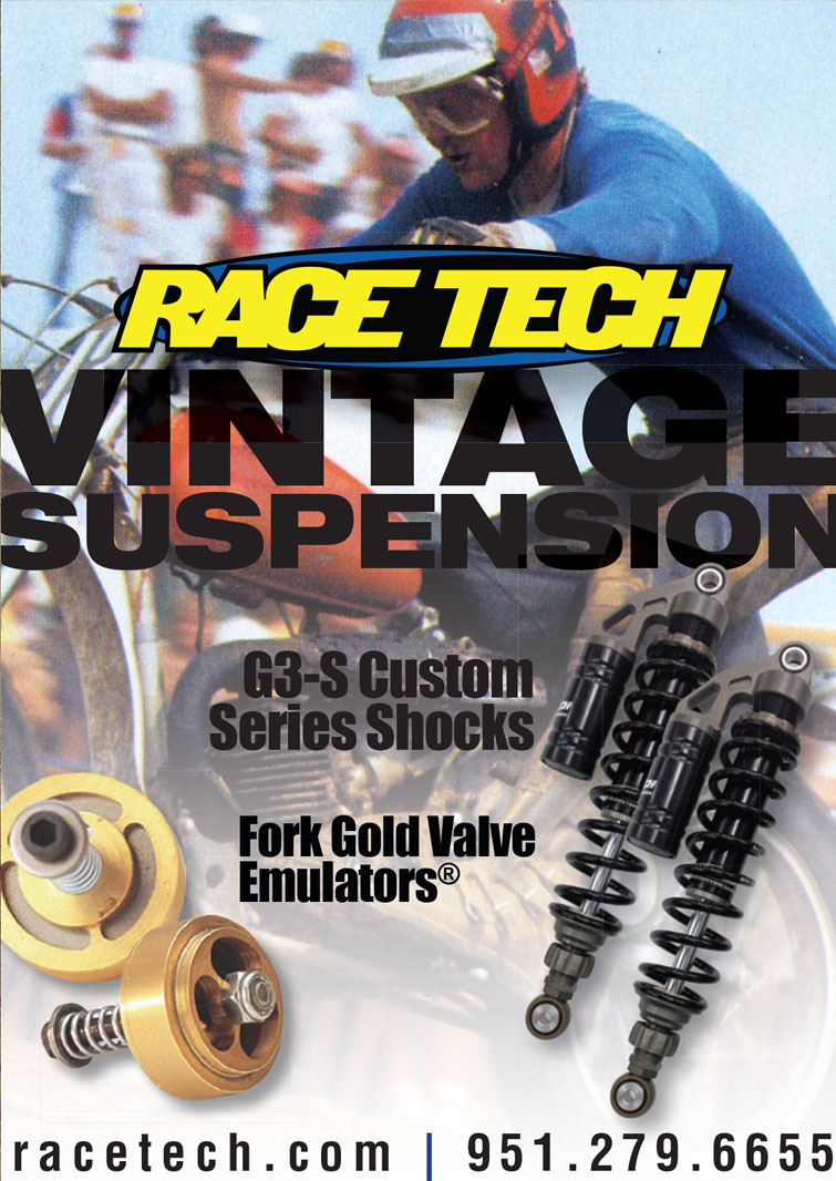 Race Tech Advertisement