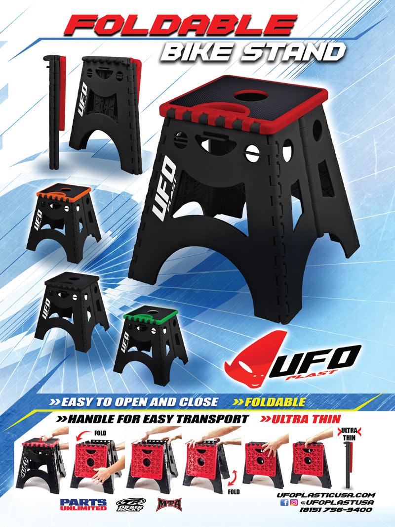 Racer X May 2019 - UFO Plastic Advertisement