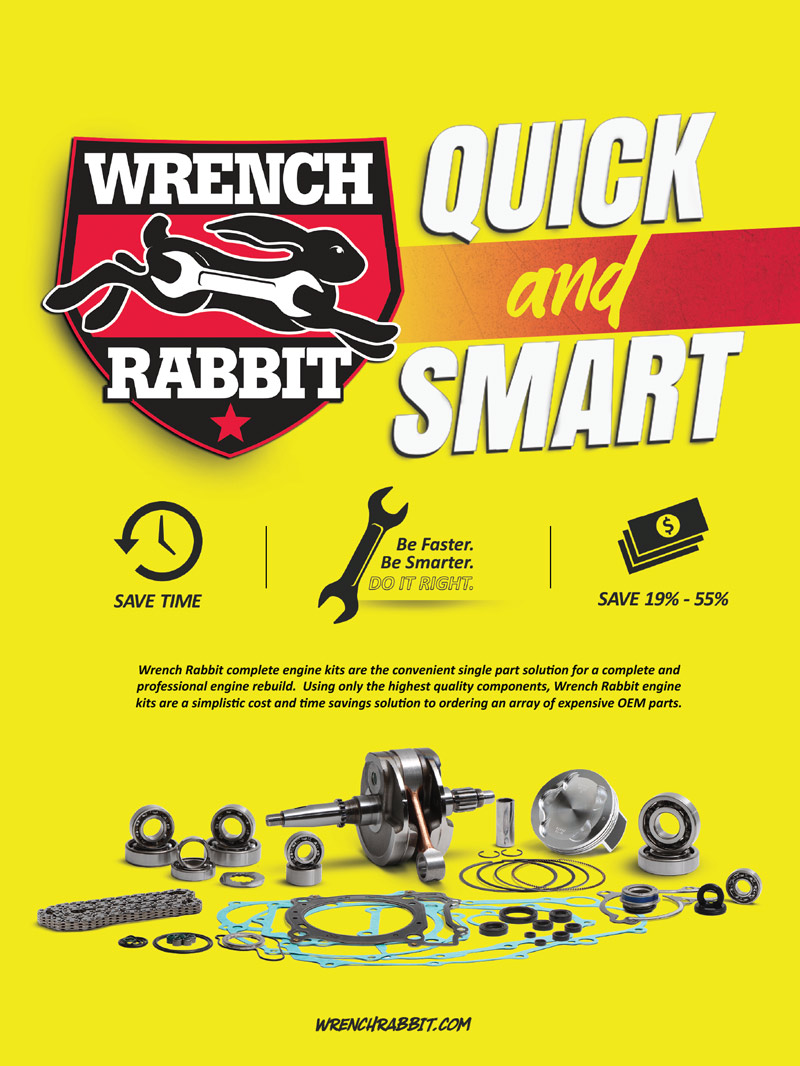 Wrench Rabbit Advertisement