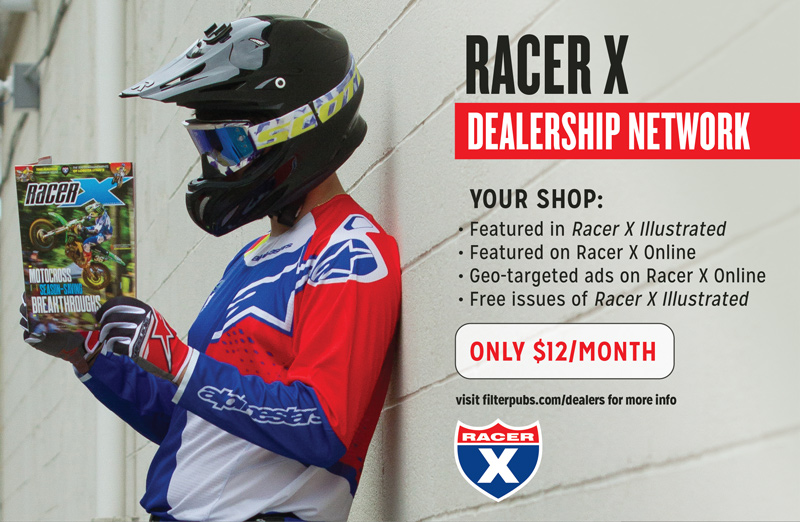 Racer X November 2019 - Racer X Advertisement