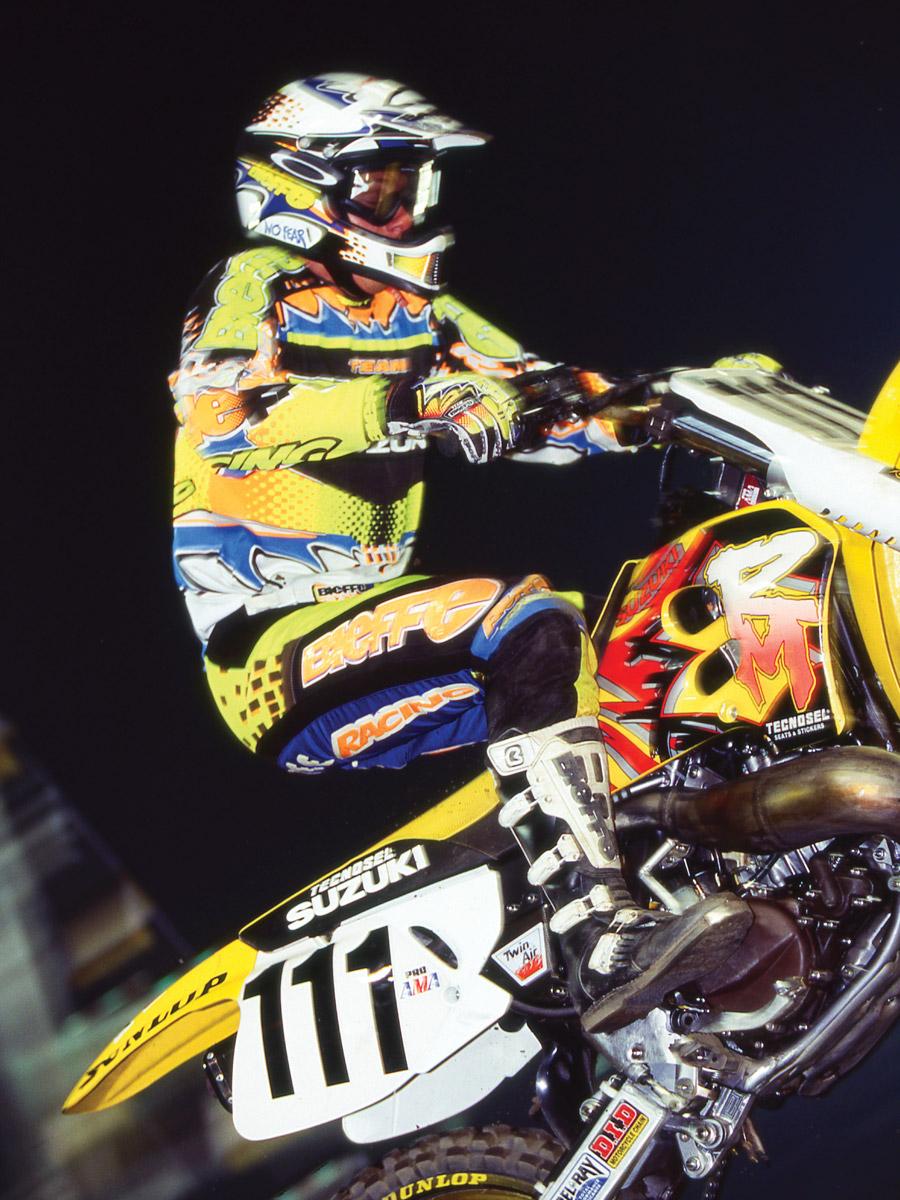 Greg Albertyn in 1995 at Orlando Supercross