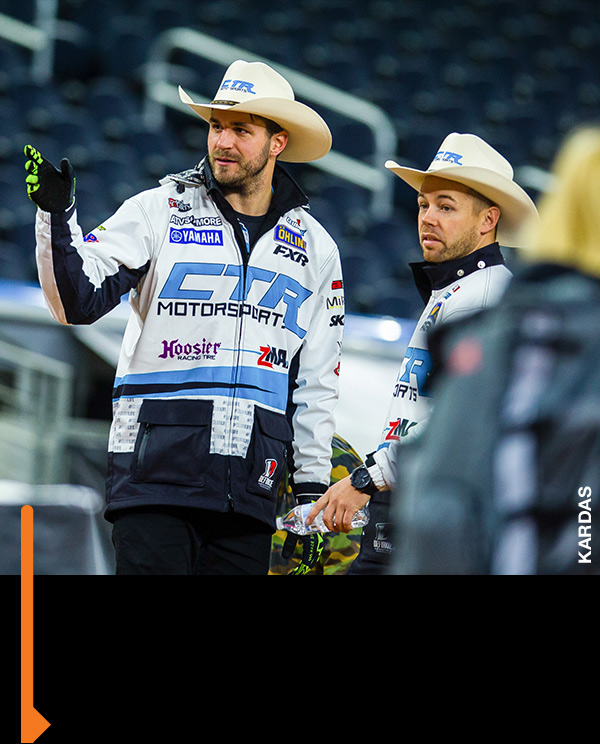 CTR Motorsports is new to the SX rodeo.
