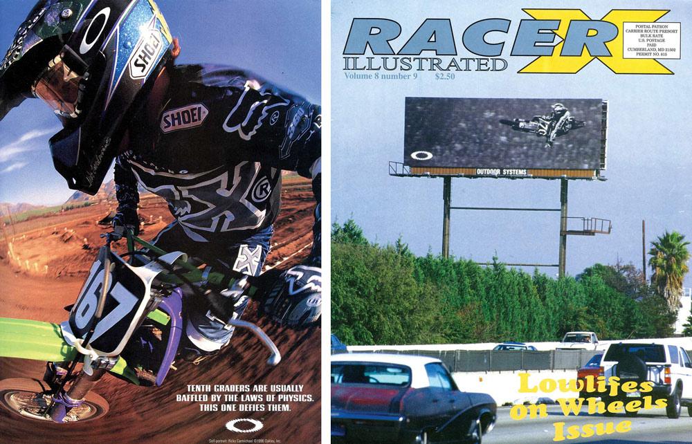 Racer X Illustrated magazine