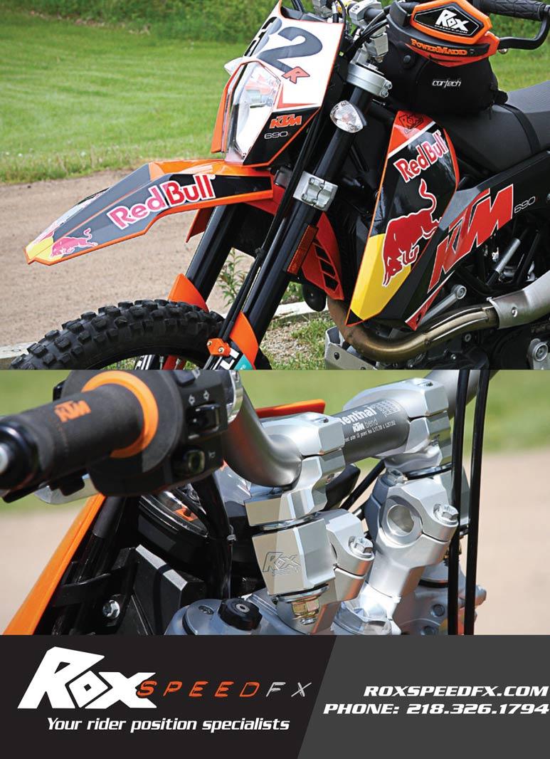 Racer X May 2019 - Rox Speed FX Advertisement