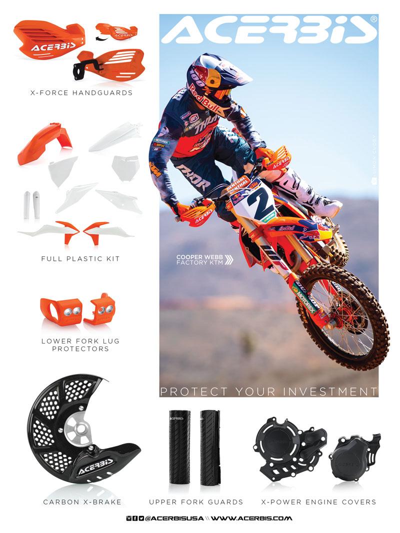 Racer X June 2019 - Acerbis Advertisement