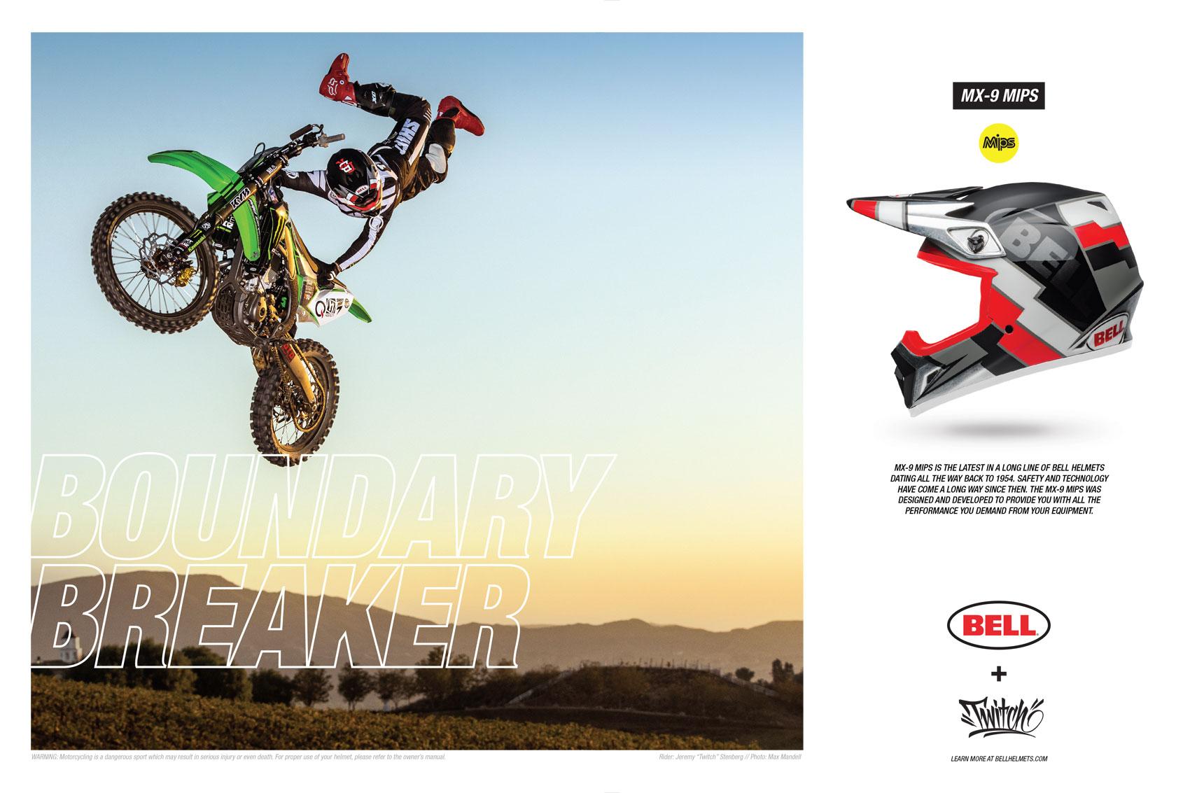 Racer X June 2019 - Shoei Helmets Advertisement