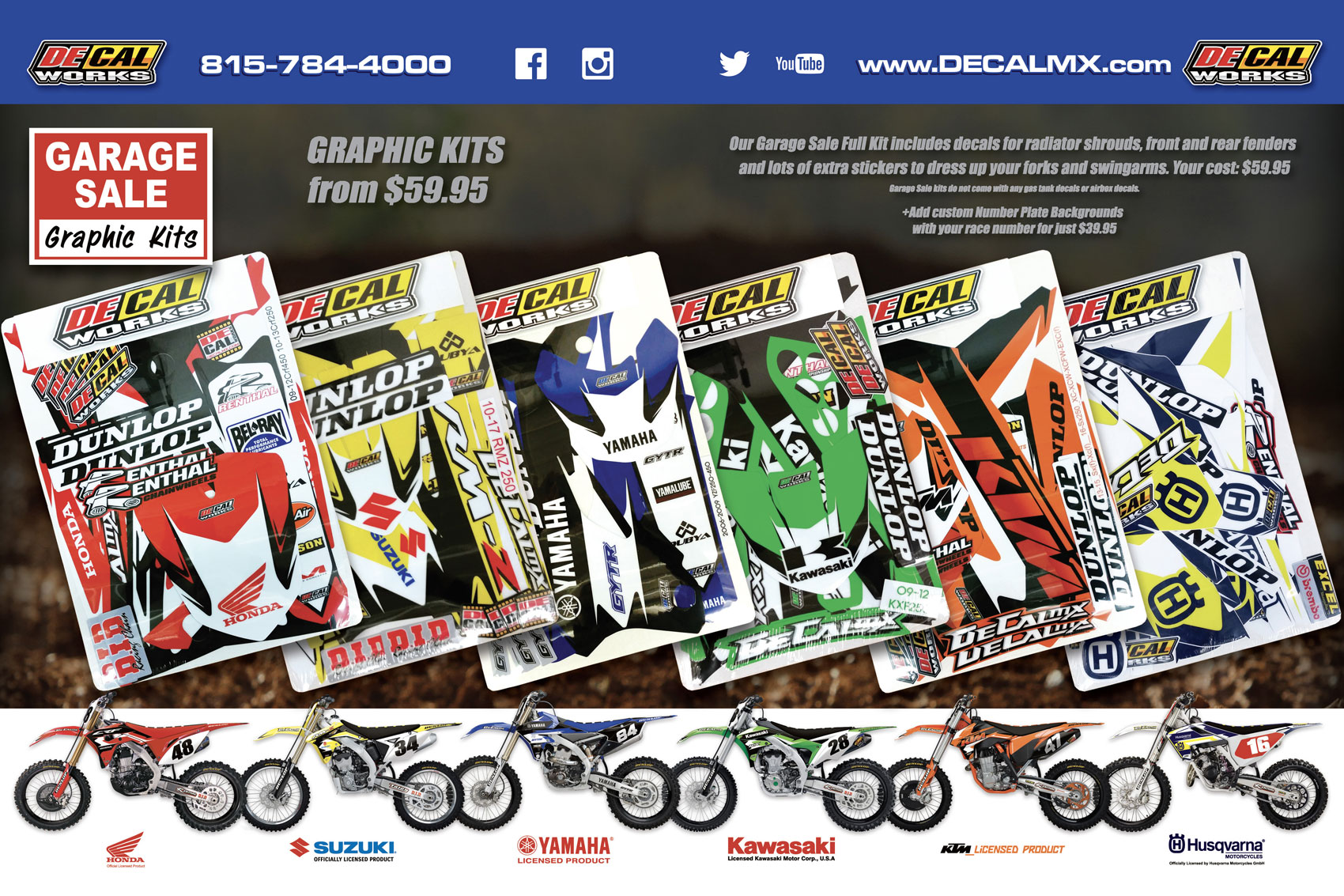 Racer X June 2019 - Decal Works Advertisement