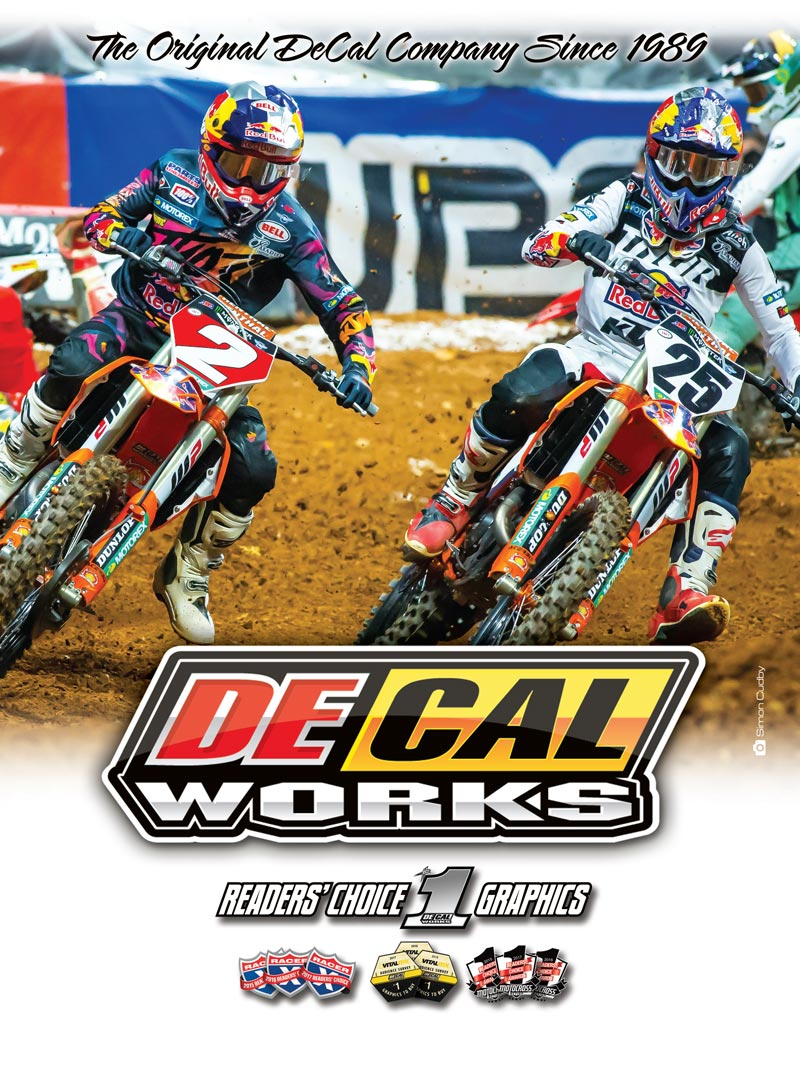 Racer X June 2019 - Decal Works Advertisement