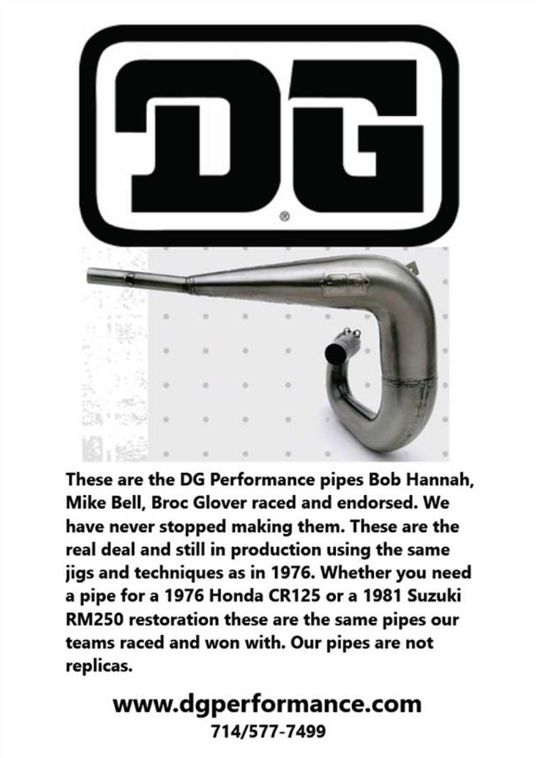 Racer X June 2019 - DG Performance Advertisement