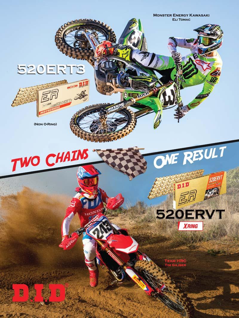 Racer X June 2019 - D.I.D. Advertisement