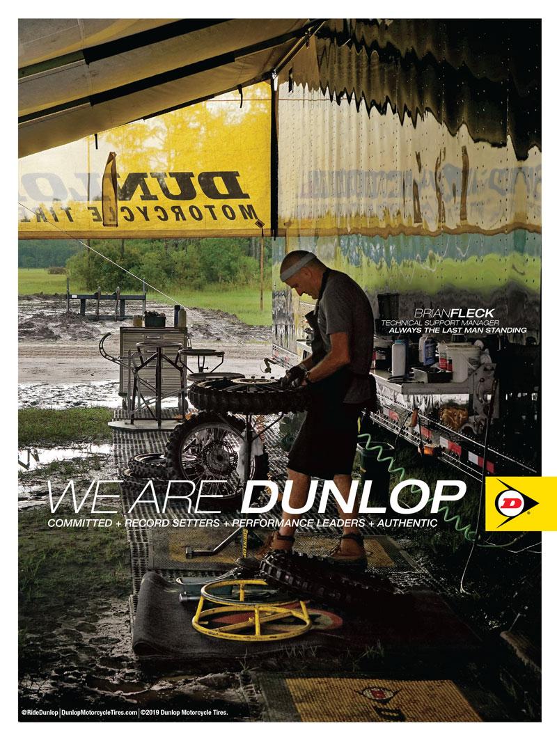 Racer X June 2019 - Dunlop Advertisement