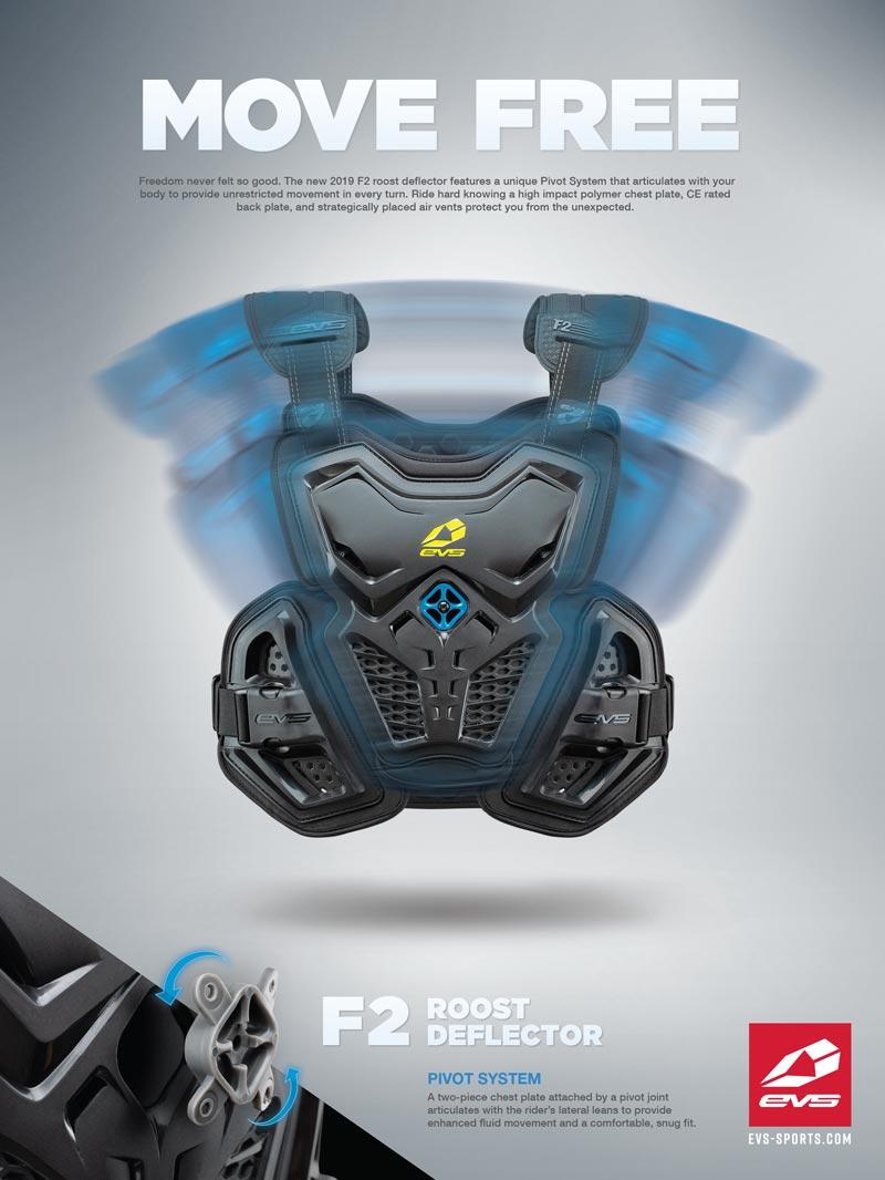 Racer X June 2019 - EVS Sports Advertisement