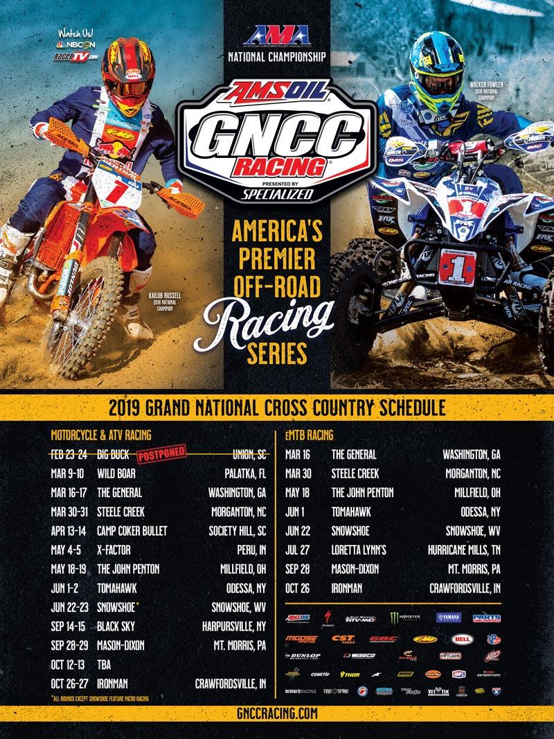 Racer X June 2019 - GNCC Racing Advertisement