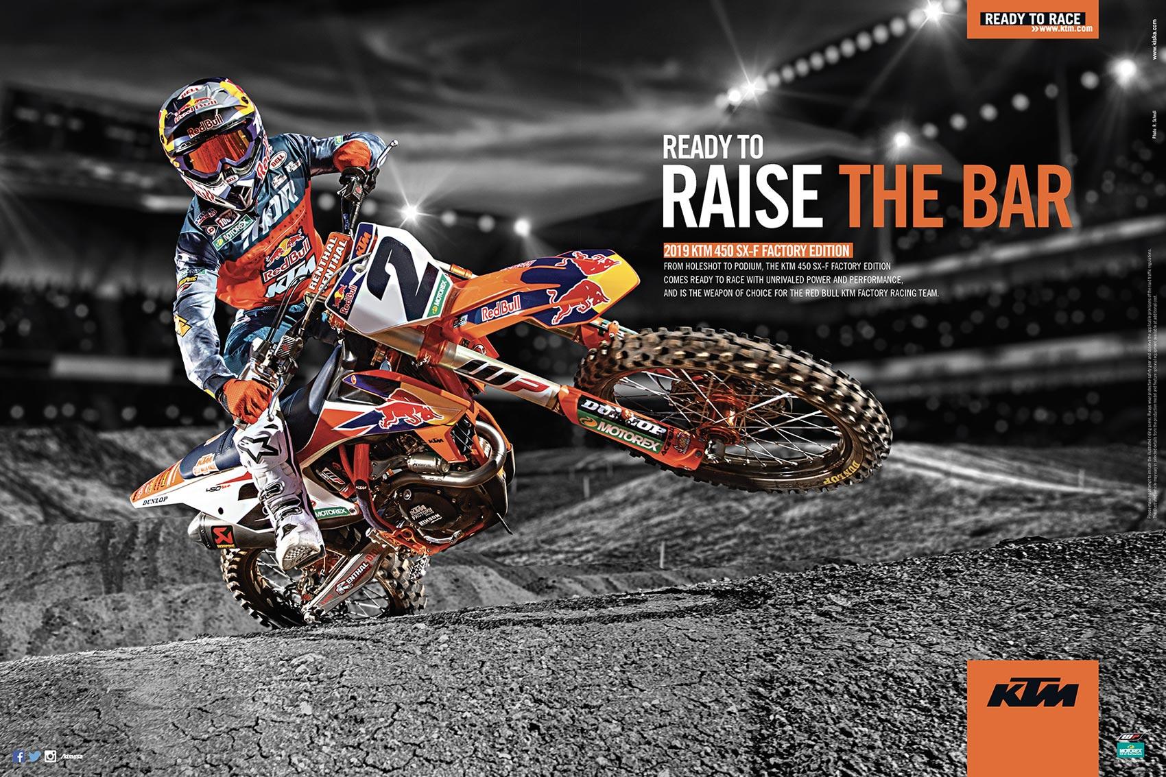 Racer X June 2019 - KTM Advertisement