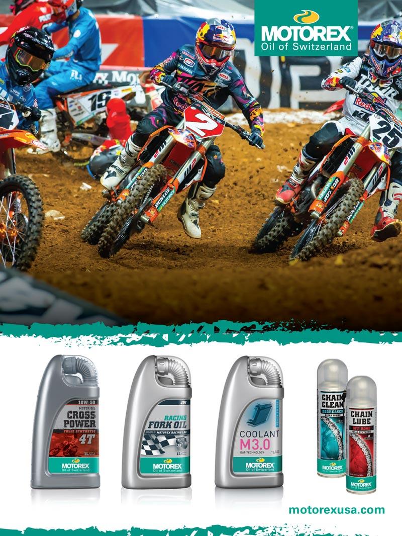 Racer X June 2019 - Motorex Advertisement