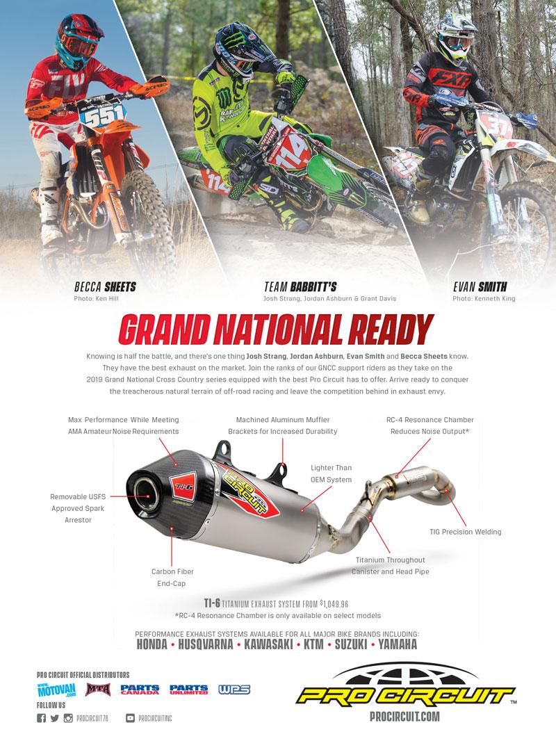 Racer X June 2019 - Pro Circuit Advertisement