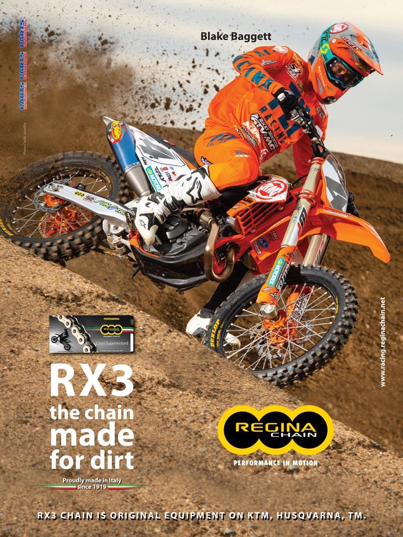 Racer X June 2019 - Regina Chain Advertisement