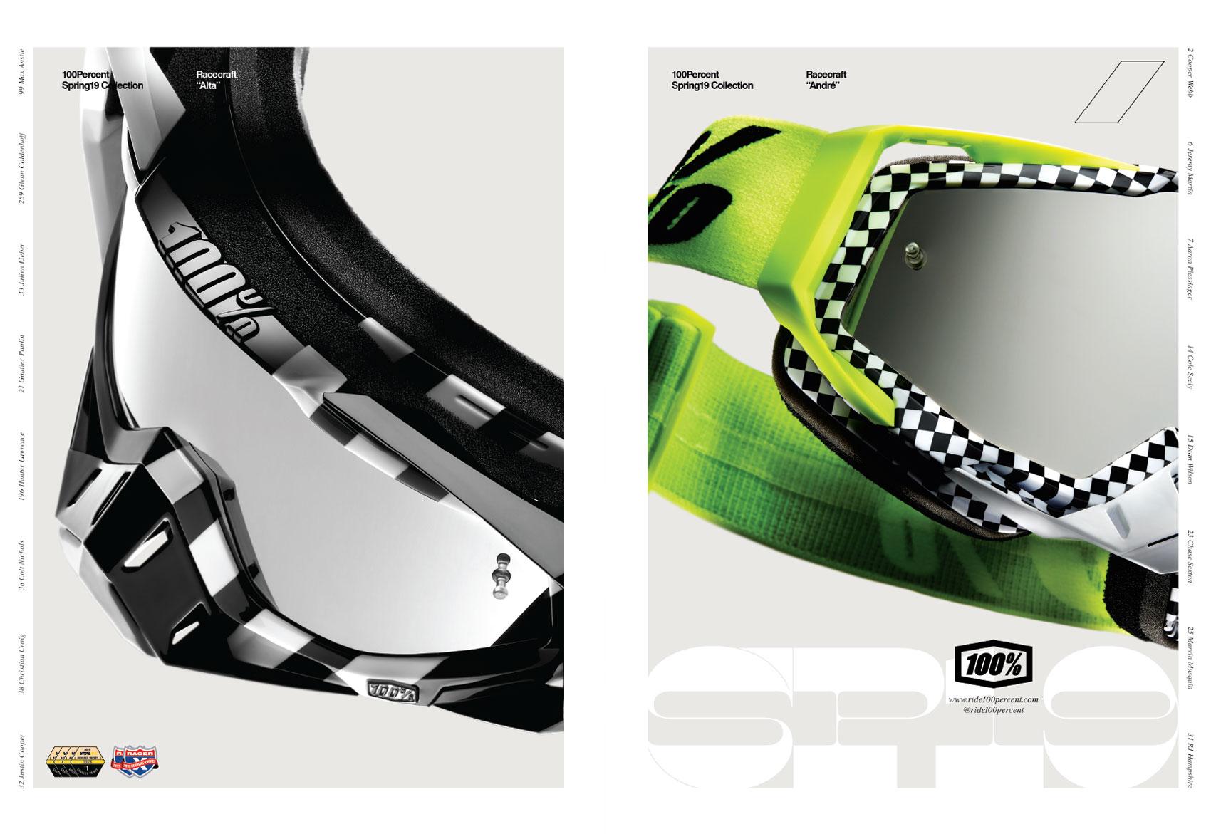 Racer X June 2019 - Ride 100 Percent Advertisement