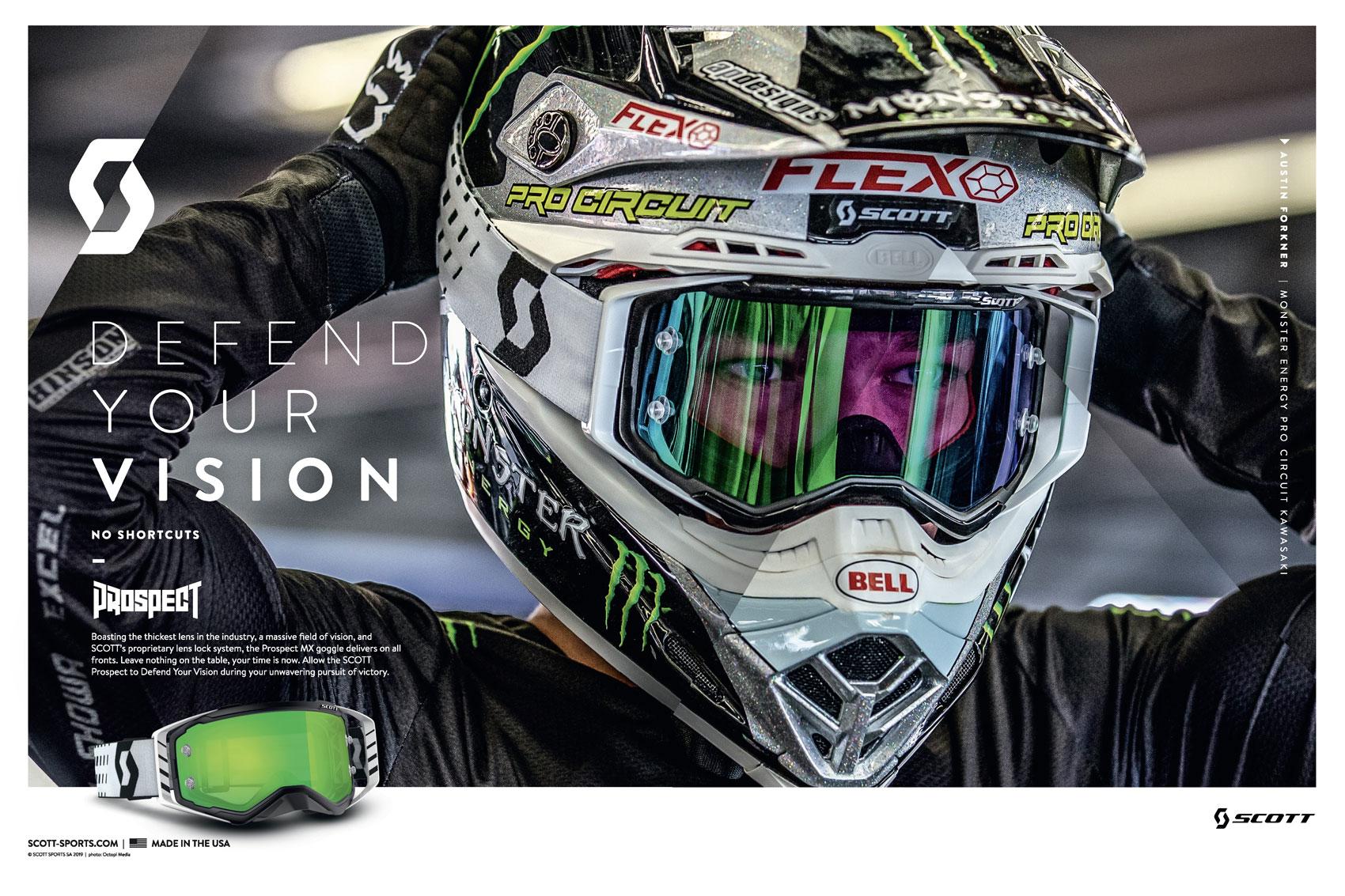 Racer X June 2019 - Scott Sports Advertisement