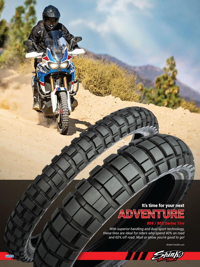 Racer X June 2019 - Shinko Motorcycle Tires Advertisement