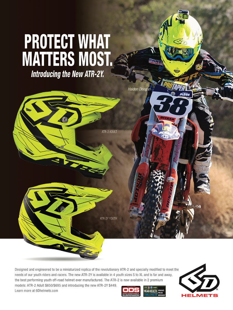 Racer X May 2019 - 6D Advertisement
