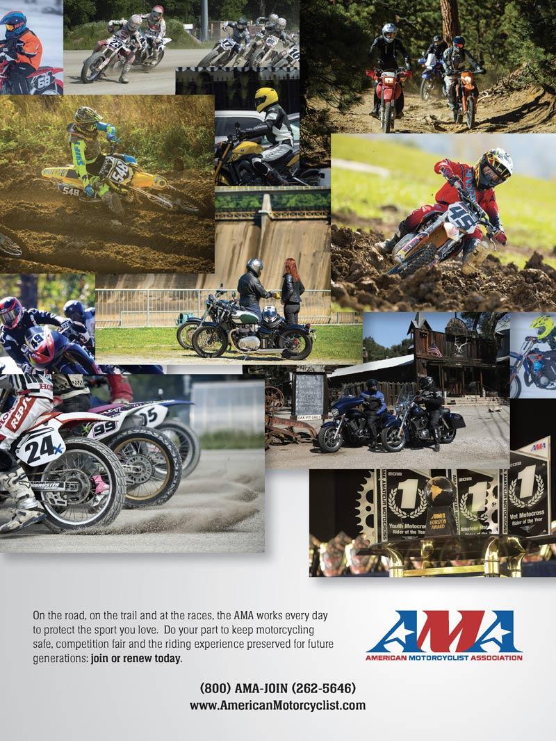 Racer X May 2019 - American Motorcyclist Association Advertisement