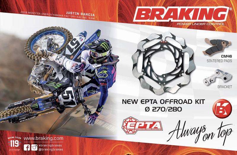 Racer X May 2019 - Braking Brakes Advertisement