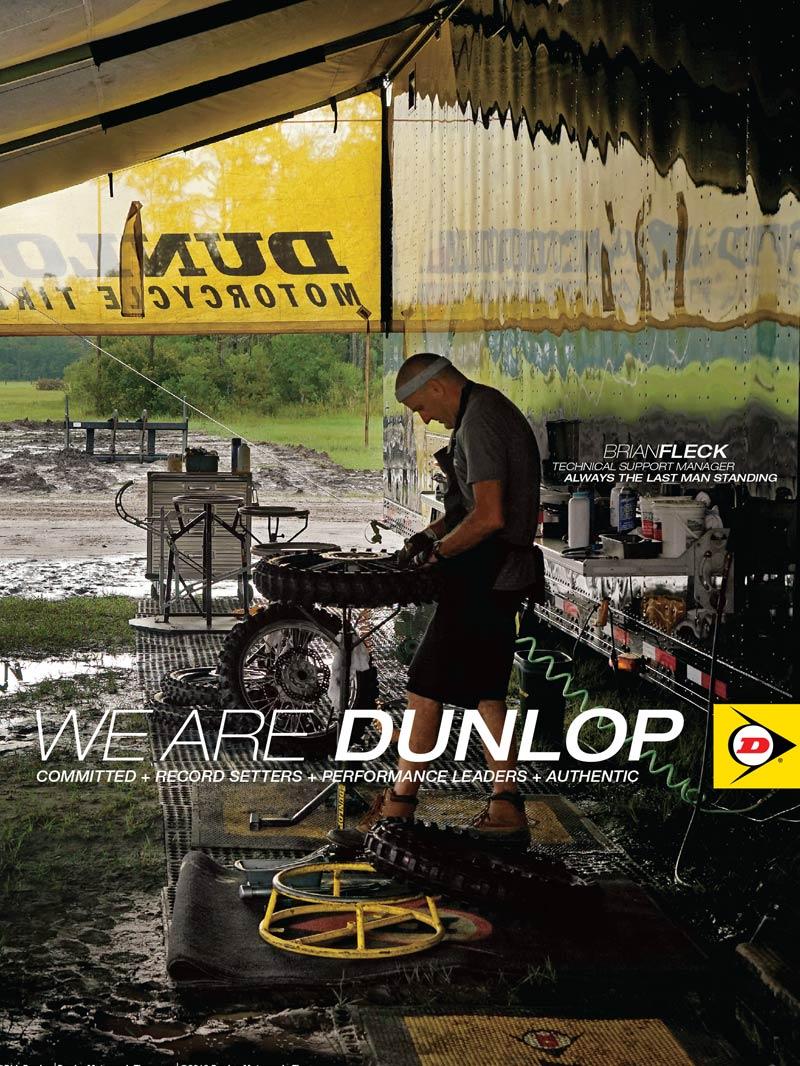 Racer X May 2019 - Dunlop Advertisement