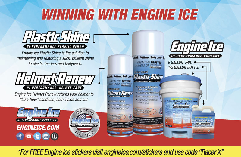 Racer X May 2019 - Ice Engine Advertisement