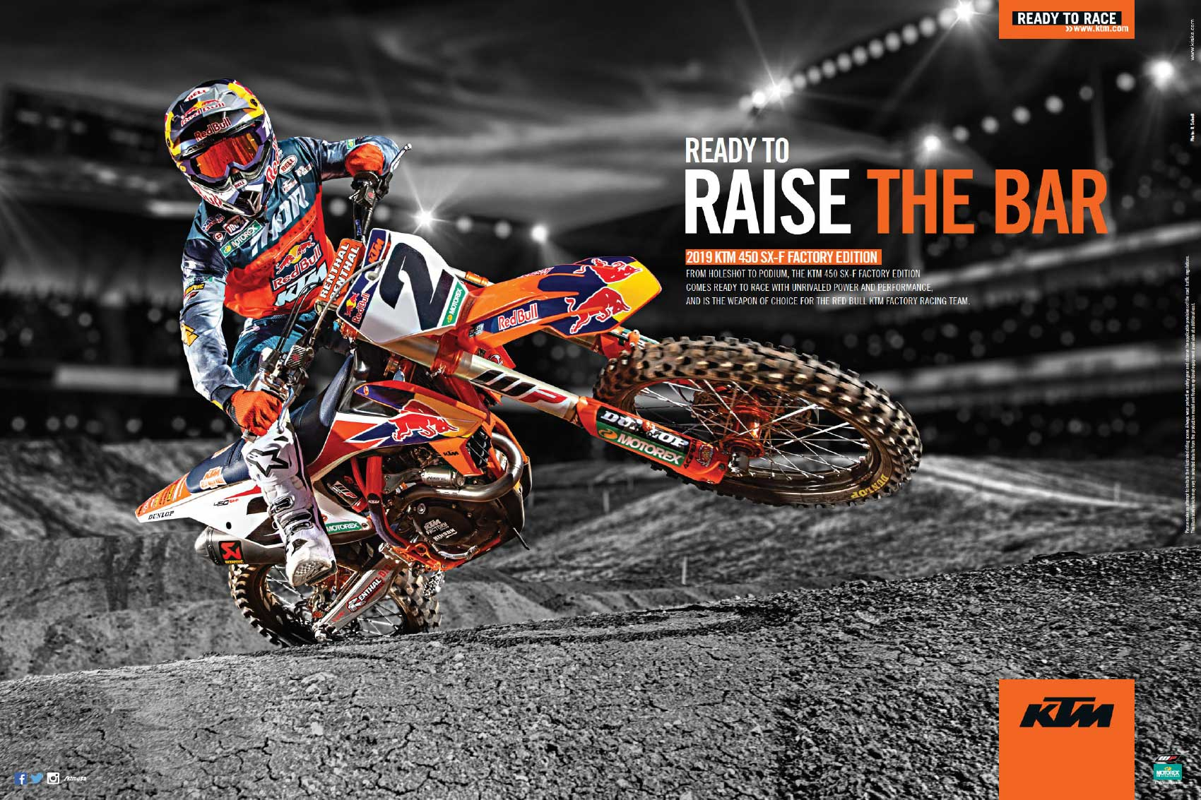 Racer X May 2019 - KTM Advertisement