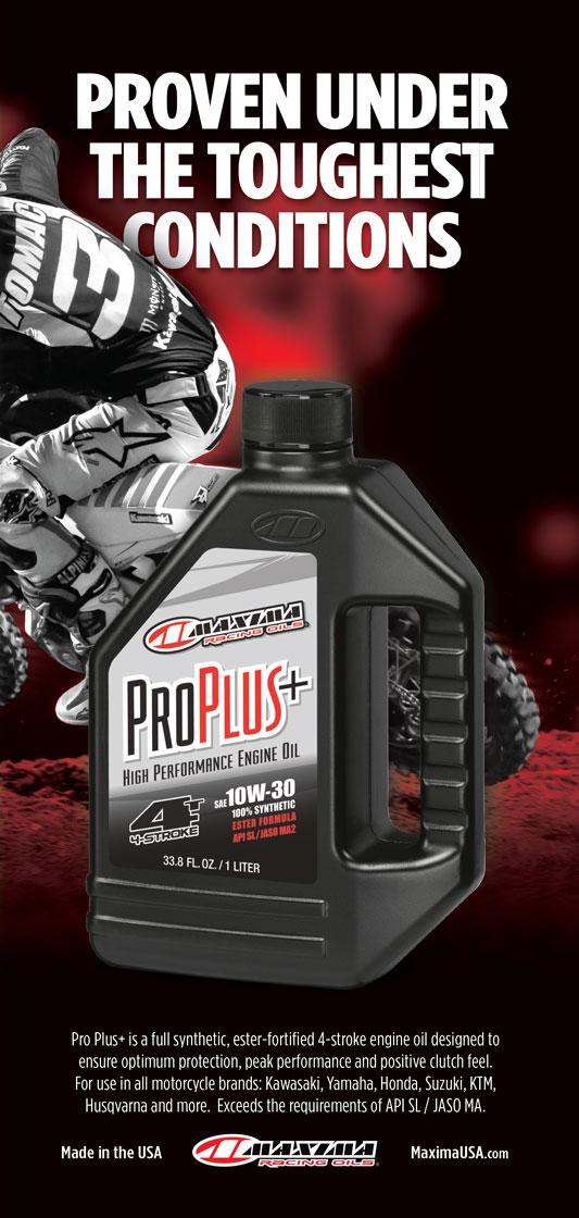 Racer X May 2019 - Maxima Racing Oils Advertisement