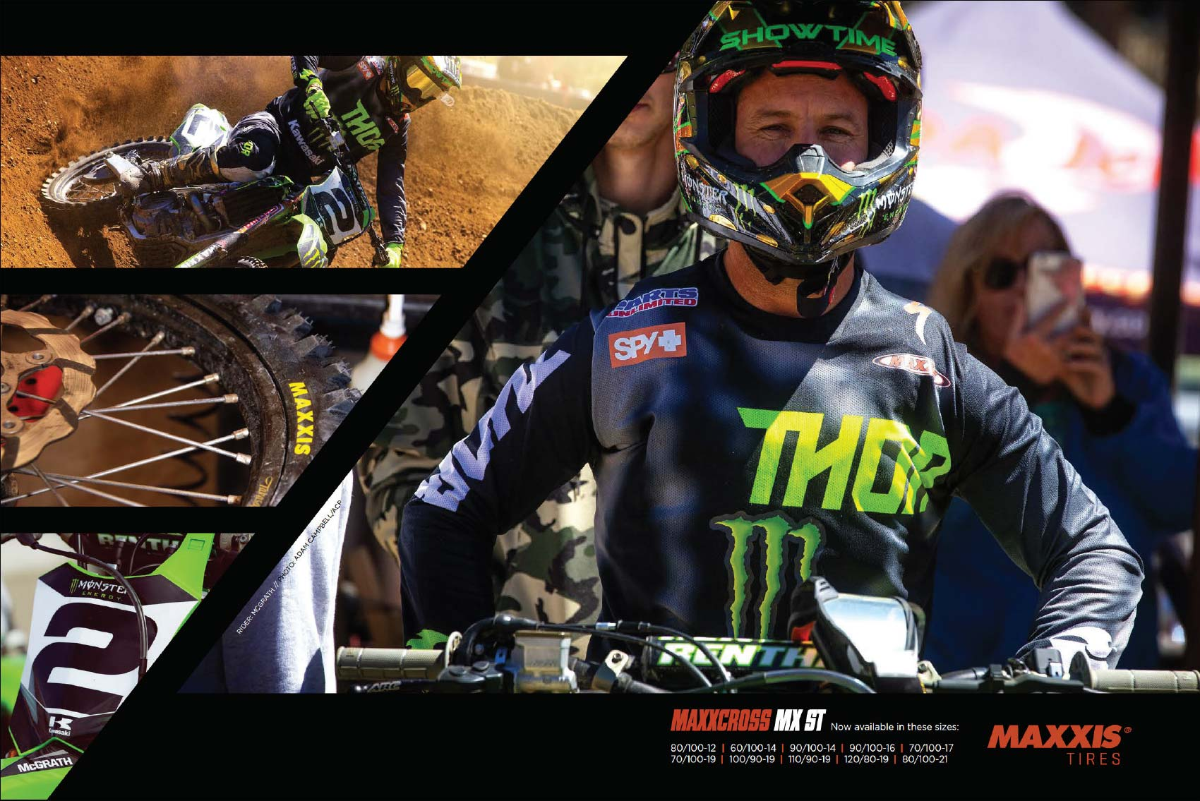 Racer X May 2019 - Maxxis Tires Advertisement